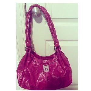 💕 BEAUTIFUL FUCHSIA ROSETTI HAND BAG 💘